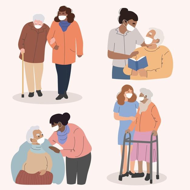 collection-volunteers-helping-elderly-people_23-2148578043