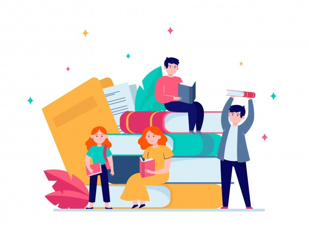 focused-tiny-people-reading-books_74855-5836