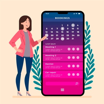 woman-with-mobile-phone-creating-reminder_23-2148568828